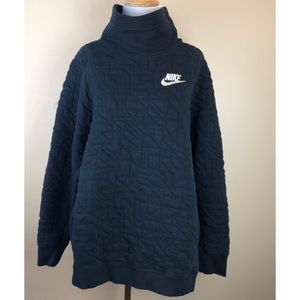 Nike• Black Cowl Neck Sweatshirt